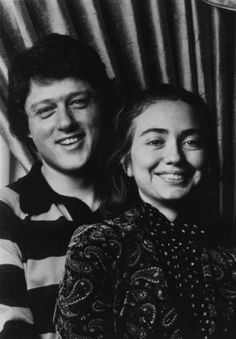 Bill Clinton and Hillary Rodham in the mid-1970s. Timeline for Hillary Clinton (not complete)
