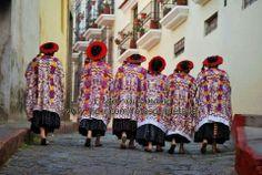 Mujeres indígenas de la región de Quetzaltenango, Guatemala