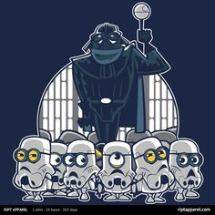 Empiracle Me (Despicable Me / Minions / Stormtroopers / Darth Vader / Star Wars / Mash Up)