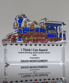 Honor your top engineer with our Custom Train Paperweight Award. Custom Awards, 50 Years Old, Locomotive, Paper Weights, Engineering, Train, Prints, Logo, Usa