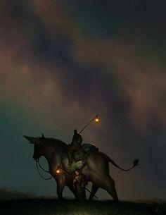 Under Lamplight by andrewmar.deviantart.com on @deviantART