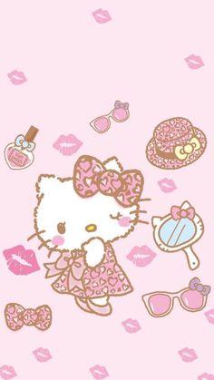 Hello Kitty Art, Hello Kitty My Melody, Hello Kitty Pictures, Hello Kitty Backgrounds, Hello Kitty Wallpaper, Sanrio Wallpaper, Kawaii Wallpaper, Hello Sanrio, Pochacco