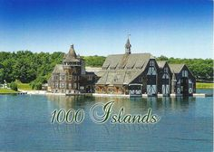 Boldt Castle - Little island for the boat house! Little Island, The St, Cathedral, Castle, Boat House, River, Mansions, House Styles, Building