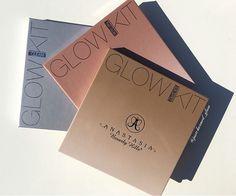 Glow Kit Galore ✨ #ABHglowkit in 'Gleam', #thatglow, and 'Sun Dipped' #AnastasiaBeverlyHills
