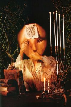 Use of lighting creates drama, warn lighting, artist; Dave McKean