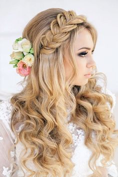 Wedding Magazine - Braided and plaited hair ideas for your wedding day