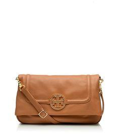 Amanda Foldover Messenger | Womens Top Handles & Shoulder Bags