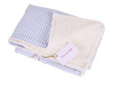 Babydecken - Babydecke Vichykaro und Teddyplüsch - ein Designerstück von Tina-und-Lilli bei DaWanda