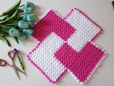 YouTube Weaving Patterns, Knitting Patterns, Crochet Patterns, Knitting Videos, Easy Knitting, Hand Embroidery Videos, Manta Crochet, Handicraft, Crochet Stitches