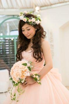 Yu's fleur (ユーズフルール)Wedding flower 港区ベイエリア flower Salon   花冠 ブーケ リストブーケ