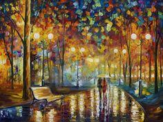 Love the colors! artist - Lenoid Afremov