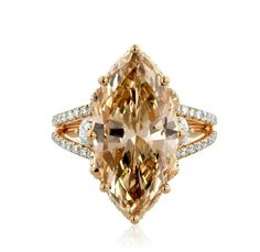 My favorite cut is marquise! I love this diamond!. Description called it Natural Brown, looks Cognac to me. Who cares really, it is gorgeous!
