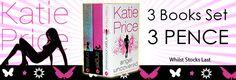 Katie Price 3 Books Collection Set (Jordan)