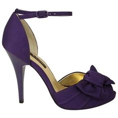 Women's Nina Electra Grape Satin Shoes.com.  These shoes go up to size 11.