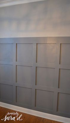 Dining Room Wall Treatment