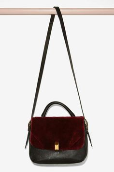 IlllBeCa D'Orsay Shearling Bag - Accessories   Bags + Backpacks
