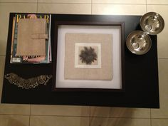 Coffee table coordination