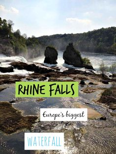 The Rhine Falls are one of Switzerland top attractions and Europe's biggest waterfall