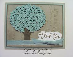 Thoughtful Branches stamp set, Beautiful Branches thinlits, bundle