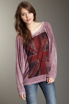 Come Together Dolman Thermal Top by Go Couture on @HauteLook