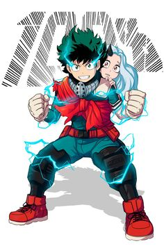 """shamserg: """" BNHA: 100 a little spoiler allert, if you dont read a manga, just dont think much about the picture. I was so hyped after last BNHA chapter, than i couldnt resist to draw something related. I was in hurry cause i did it between. Chibi Kawaii, Chibi Anime, Anime Art, My Hero Academia Episodes, My Hero Academia Memes, Hero Academia Characters, Boku No Hero Academia, My Hero Academia Manga, T Shirt Manga"""