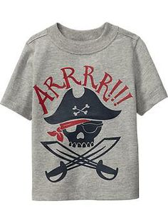 Pirate-Graphic Tees for Baby | Old Navy