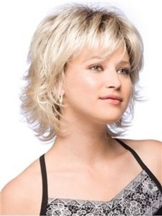 The Short Wavy Cheap Wig For A Sweet Baby face Original Price: $114.00 Latest Price: $48.39