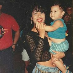 Selena Quintanilla -Perez and Towards the end of her life, Selena and Chris planned on having children as soon as Selena's career settled down some. It was one of Selena's biggest dreams to be a mother. She hoped to one day have five kids.