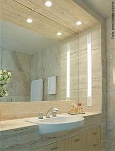 home decor crafts Upstairs Bathrooms, Dream Bathrooms, Beautiful Bathrooms, Bathroom Spa, Master Bathroom, Bathroom Lighting, Washroom Design, Bathroom Pictures, Modern Decor