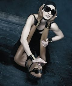 Dsquared2 Eyewear Ad Campaign, Spring 2009