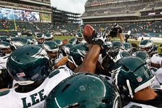 My Philadelphia Eagles. I'll bleed green until I die.