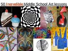 50 Incredible Middle School Art Lessons