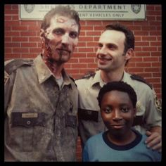 the walking dead, season 1. Wonder if they'll ever bring back Morgan and duane