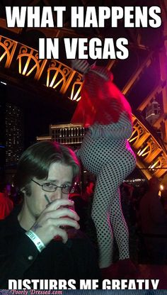 Wow... I think I saw this chick at the bar last night!