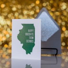 Trendy Holiday Cards by Just Invite Me // Illinois Holiday