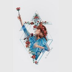 Florence Welch 's illustrations