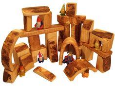Abbildung für das Produkt Bauklötze natur, Erlenholz