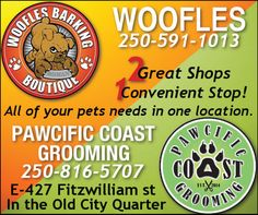 2 Great shops in 1 stop Vancouver Island, Old City, Your Pet, Coupons, Shops, Canada, Shopping, Tents, Old Town