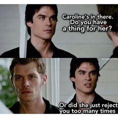 Damon and Klaus.. That could of been an epic bromance