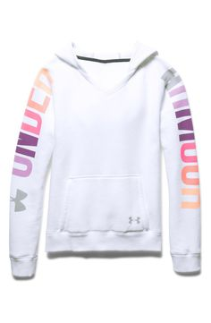Under Armour 'Favorite' Graphic Hoodie (Big Girls)