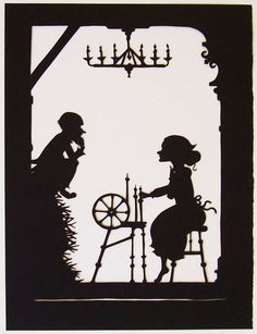 """Papercut - Rumpelstiltskin"" by IsabellasArt"