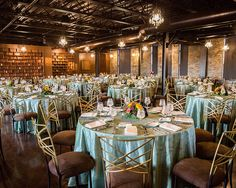 Industrial-chic wedding reception at CANAL 337. The perfect venue for your special event or wedding reception Indianapolis