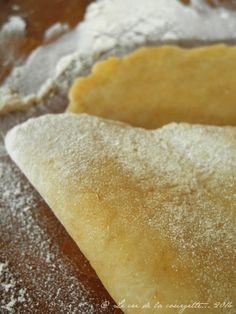 ☼ Pâte brisée à l'huile d'olive ☼ •250 g de mix sans gluten •50 g d'huile d'olive •1 oeuf •4 cas d'eau froide •1 cac de sel