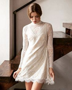 Short Boho Wedding Dress Make a statement in a modern boho wedding dress Gorgeous wedding dress whether winter wedding or summer,Simple Wedding Dresses