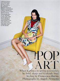 UK Vogue, February 2014