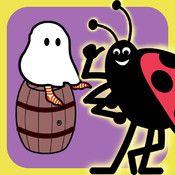 Spökbus - träna lägesord