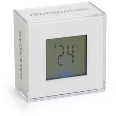 White Block Multi Function Clock  Gift Boxed -- Learn more by visiting the image link.