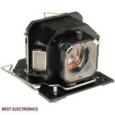 HITACHI DT00781 LAMP CP-RX70 CP-X1 CP-X2 CP-X253 CP-X4 ED-X20 CPX1/253 BULB #ForHitachi