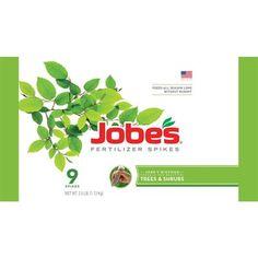 Jobe's Tree and Shrub Fertilizer Spikes (9-Pack)