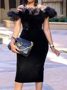 Sleeveless Off Shoulder Elegant Women& Bodycon Dress Ball Gown Dresses, Sexy Dresses, Fashion Dresses, Dresses Dresses, Elegant Dresses, Party Dresses, Dresses Online, Beautiful Dresses, Casual Dresses